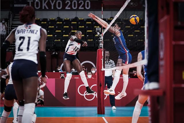 Tokio20:RD cae ante Serbia en inicio voleibol Tokio