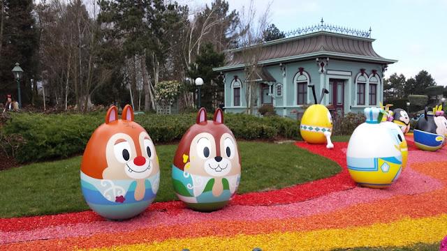 DisneylandParis - Décoration du printemps