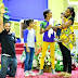 See Born-again Actor, Majid Michel And Beautiful Family In Church