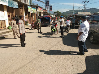 Polsek Baraka Polres Enrekang Melakukan Operasi Yustisi