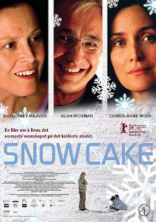 2006 Snow cake Amores en la nieve alan rickman