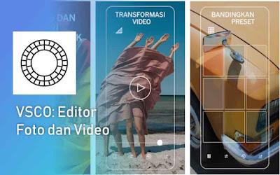 VSCO aplikasi edit foto terbaik