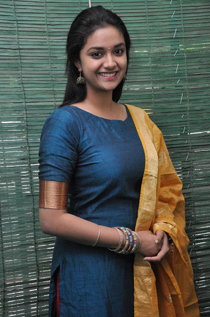 Keerthi Suresh at nenu local movie launch