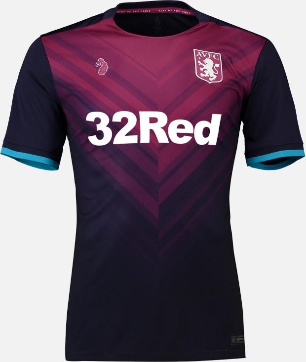 Luke 1977 divulga as novas camisas do Aston Villa - Show de Camisas 811afd631636e