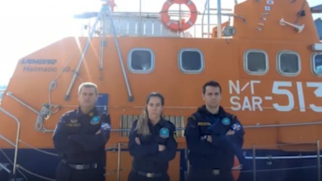 Λιμενικοί: «Εμείς μένουμε στις Ελληνικές θάλασσες. Εσείς μένετε σπίτι» (vid)