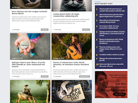 Mostheme - Responsive Blogger Template
