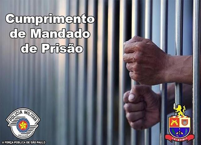 Policia Militar cumpre mandados de prisão na região
