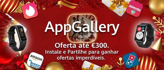 Huawei lança Campanha de Natal na AppGallery com ofertas imperdíveis