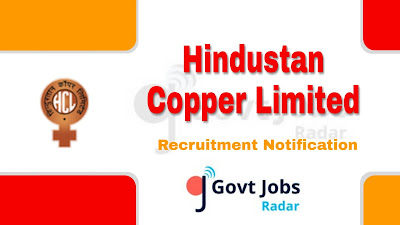 HCL recruitment notification 2019, govt jobs for ITI, govt jobs in India, govt jobs in Rajasthan, centrla govt jobs