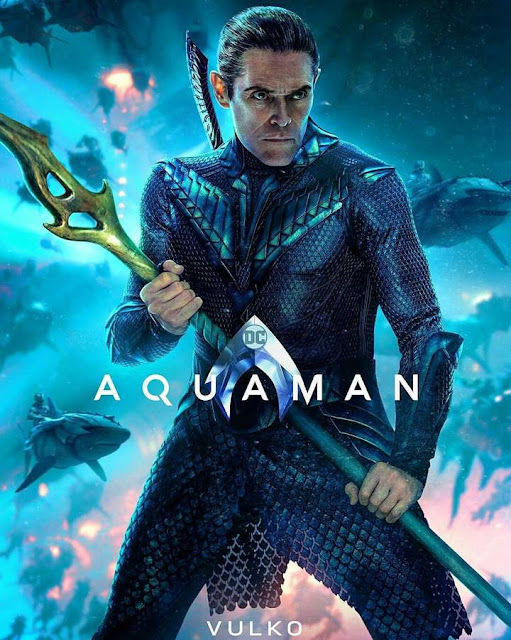 vulko Official Poster Film Aquaman