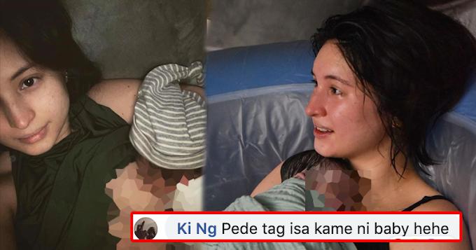 Mga hindi magandang komento sa mga nag comment sa Picture ni Coleen Garcia at anak nito, umani ng batikos