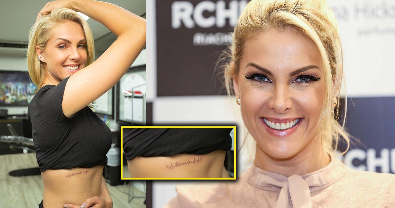 69dcd84d74f35 Ana Hickmann faz homenagem ao filho e ao marido com tatuagem