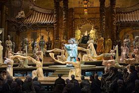 Puccini: Turandot - Christina Goerke - Metropolitan Opera (Photo Marty Sohl )