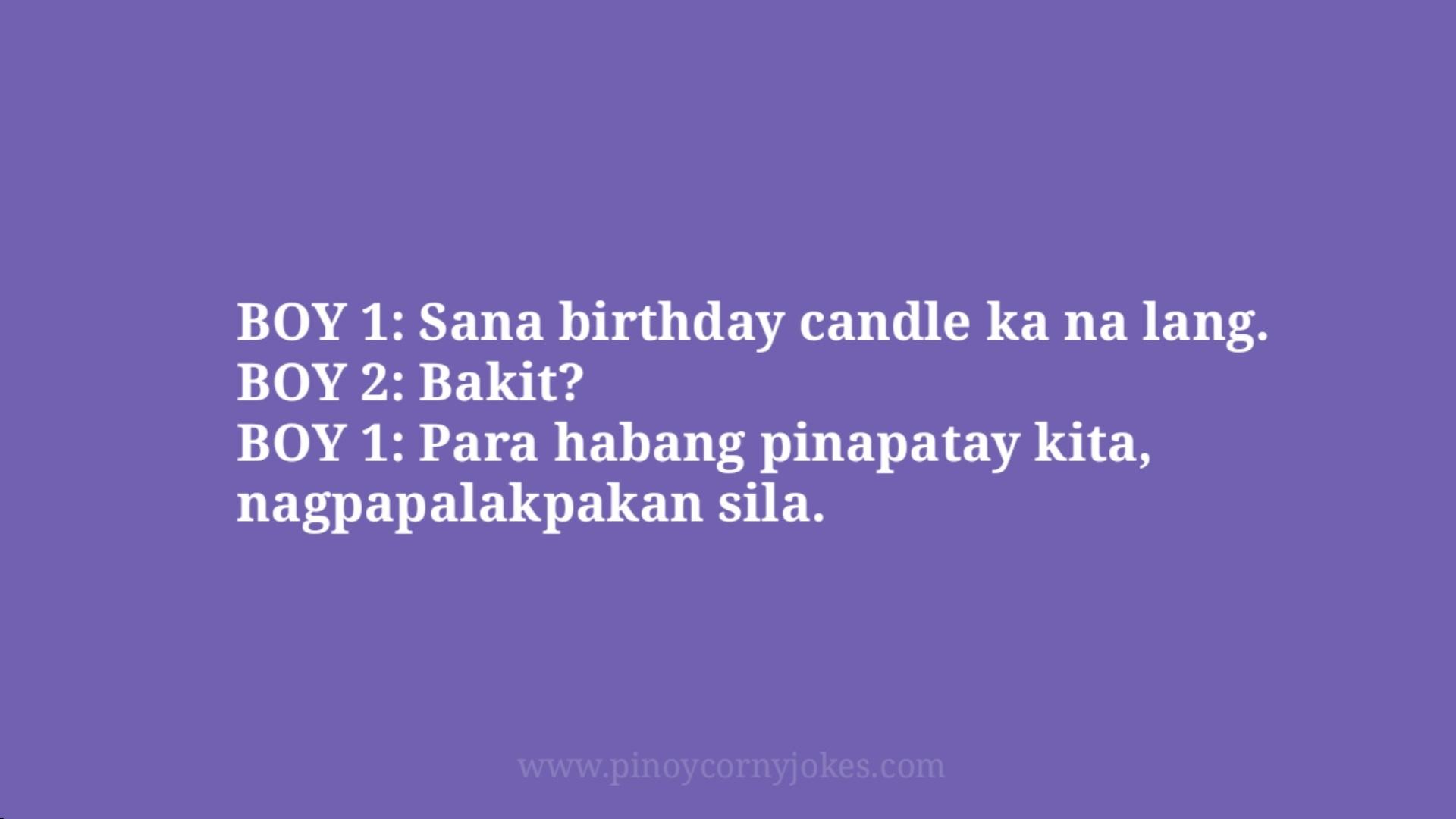 birthday candle boy girl pinoy jokes