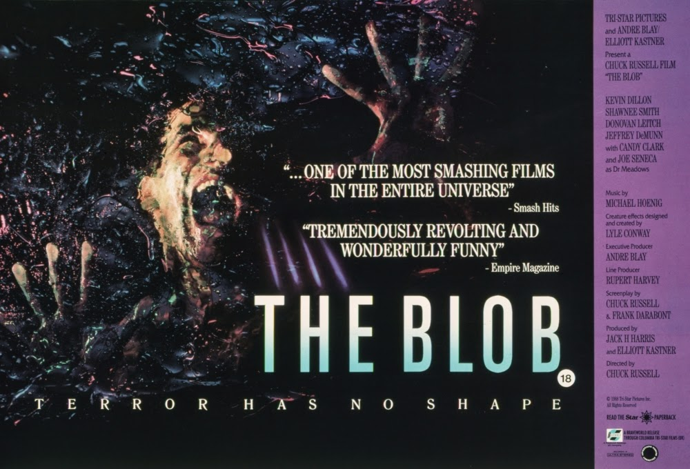 1988 Movie Posters: The Sky Has Fallen: The Blob (1988) Shares A Lot Of