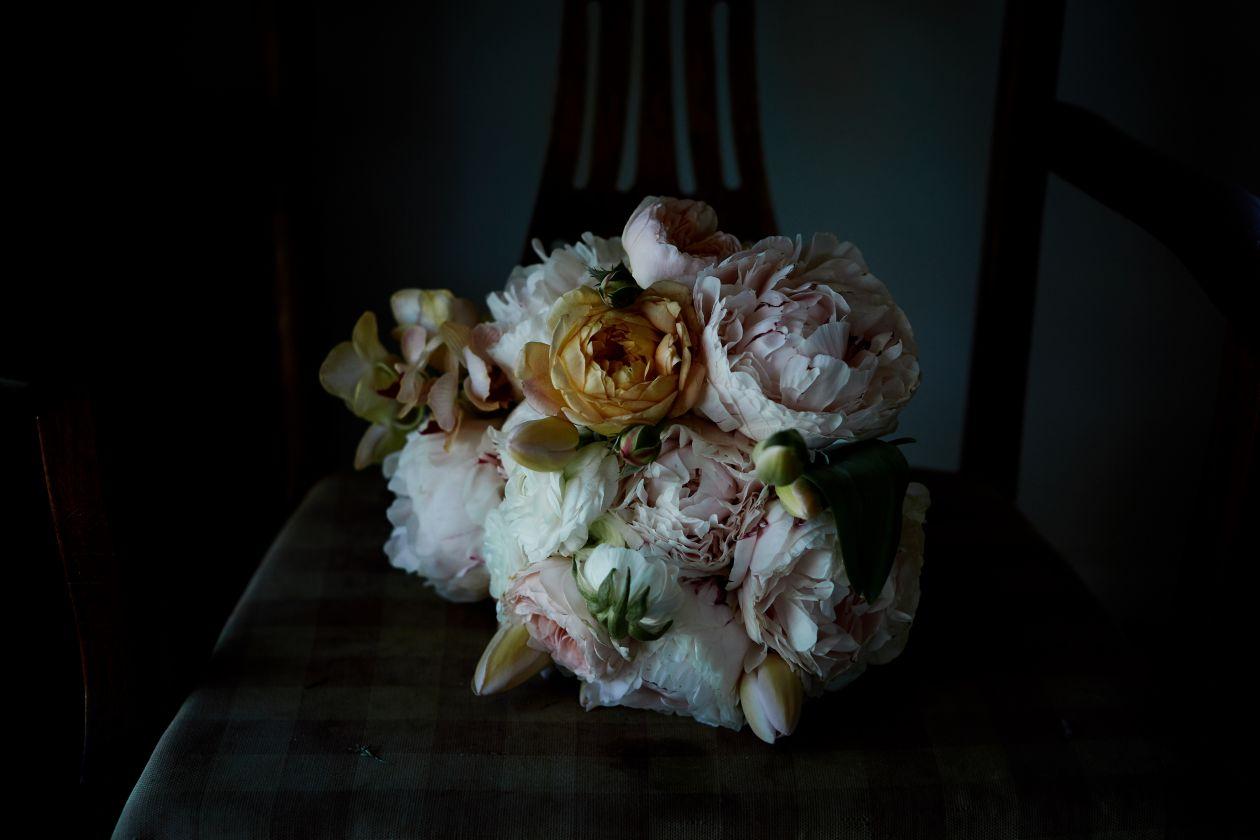 white lane studio bridal bouquet wedding flowers newcastle floral designer