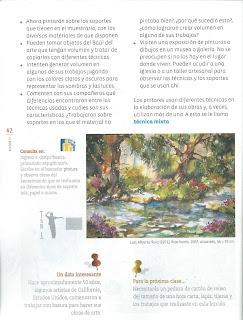 Apoyo Primaria Educación Artística 3ro. Grado Bloque III Lección 10 ¿Con qué pinto lo que pinto?