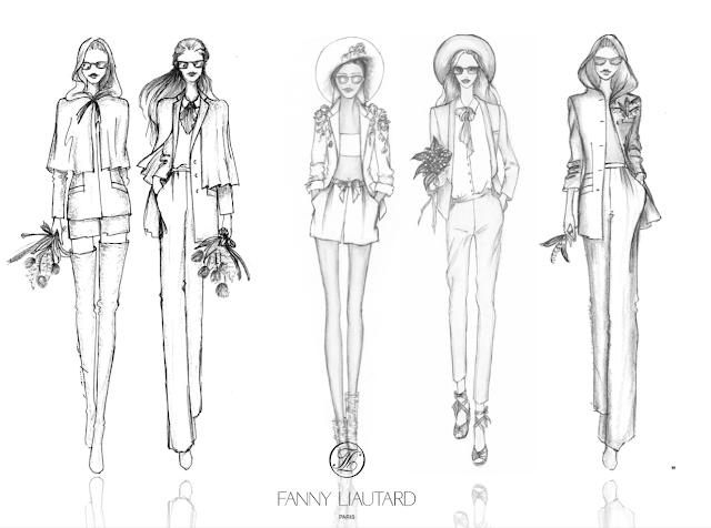 Tailleurs et smokings féminin sur mesure @ FANNY LIAUTARD