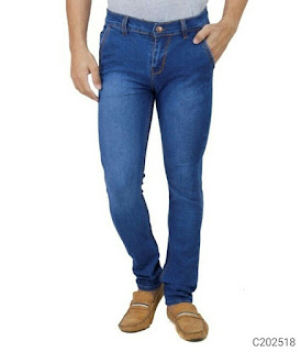 Men's Solid Jeans