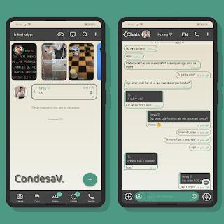 Simple Theme For YOWhatsApp & Mn WhatsApp By Ethel