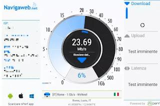 velocità wifi