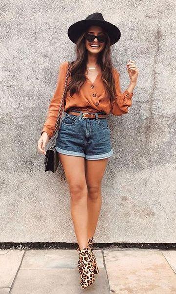 short jeans com estilo