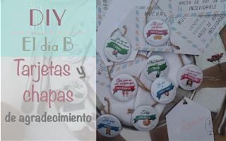 http://www.lacestitadelaabuela.es/2016/10/tarjetas-de-agradecimiento-y-chapas.html