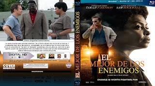 CARATULA EL MEJOR DE LOS ENEMIGOS 2019[COVER BLU-RAY]