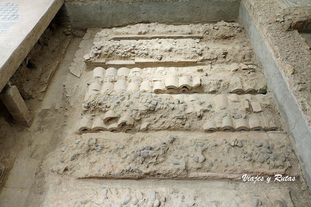 Hipocaustum de la Villa romana de La Tejada, Palencia