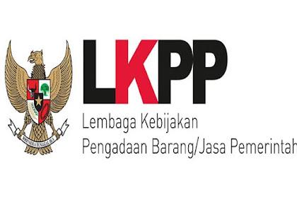 Lowongan Kerja Lembaga Kebijakan Pengadaan Barang/Jasa Pemerintah Batas Pendaftaran 14 Juni 2019