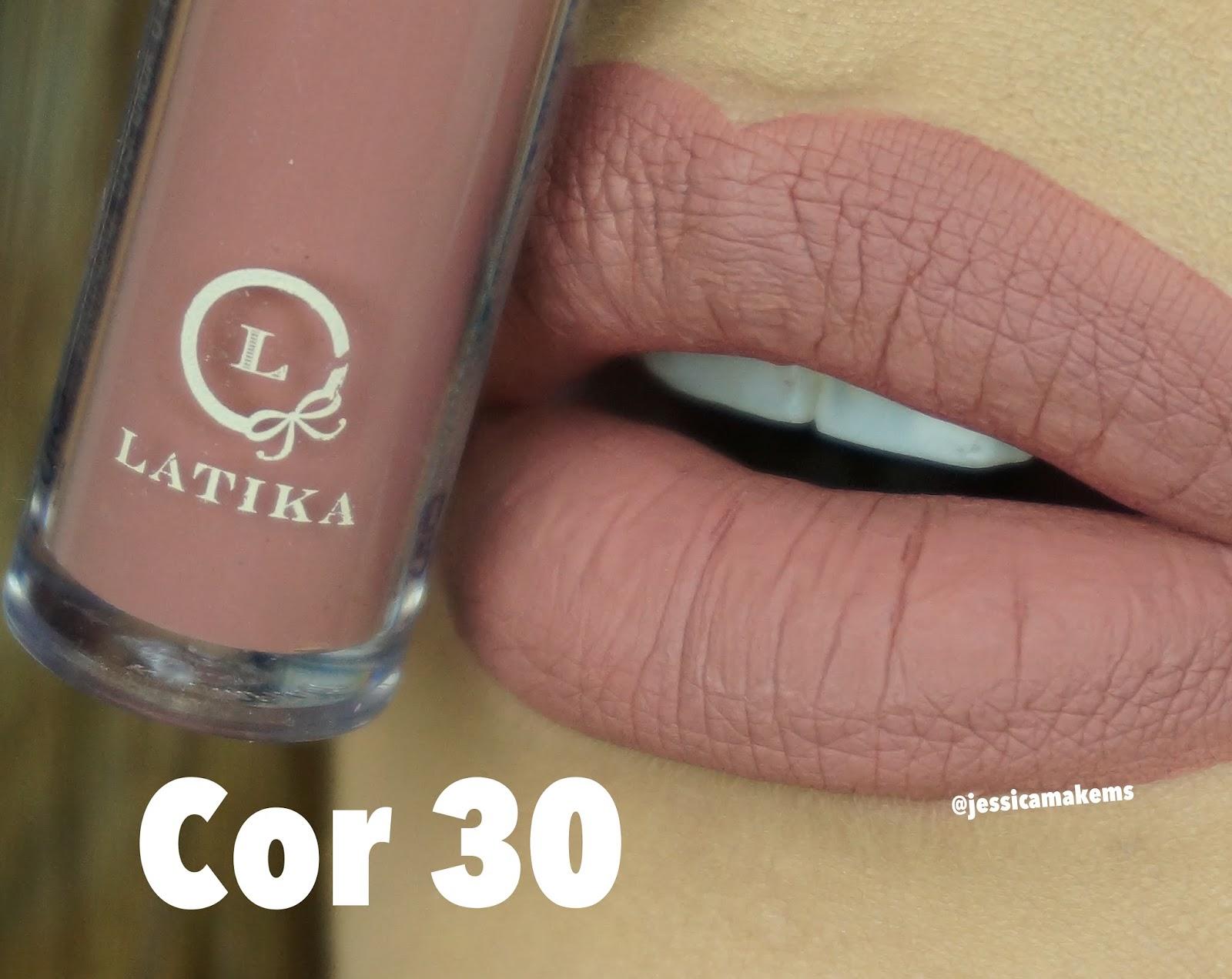 Extremamente Jessica Make: NOVOS BATONS LIQUIDOS MATTE - LATIKA (NUDES E METALICOS) ER53