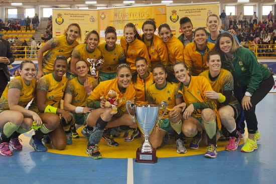 Brasil campeón en el Internacional de Fuengirola - Balonmano
