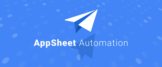 What no-code automation looks like with AppSheet