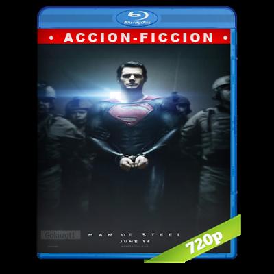 El Hombre De Acero (2013) BRRip 720p Audio Trial Latino-Castellano-Ingles 5.1