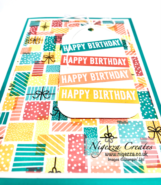 Nigezza Creates with Stampin' Up! Birthday Bonanza Case The Catalogue Card 2