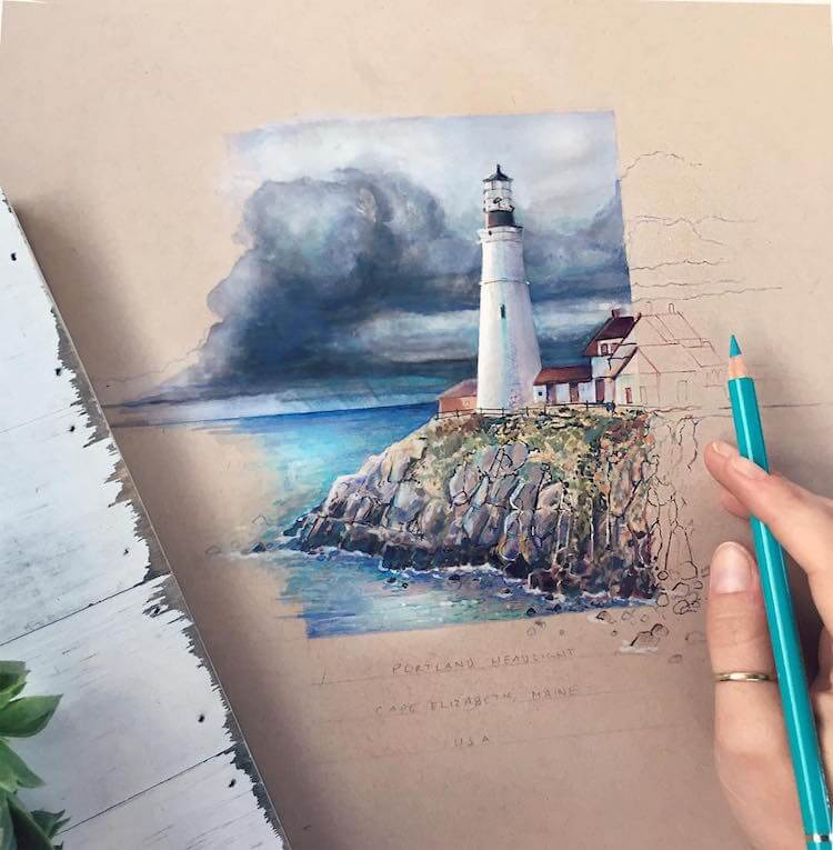 Hyperrealistic Colored Pencil Drawings Depict The Colors ...