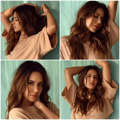 Sonam Bajwa Messy Beach Waves