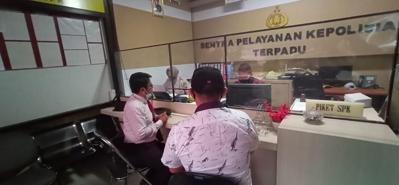 Terlapor Dugaan Penipuan Emas Lapor Balik ke Polres Lumajang