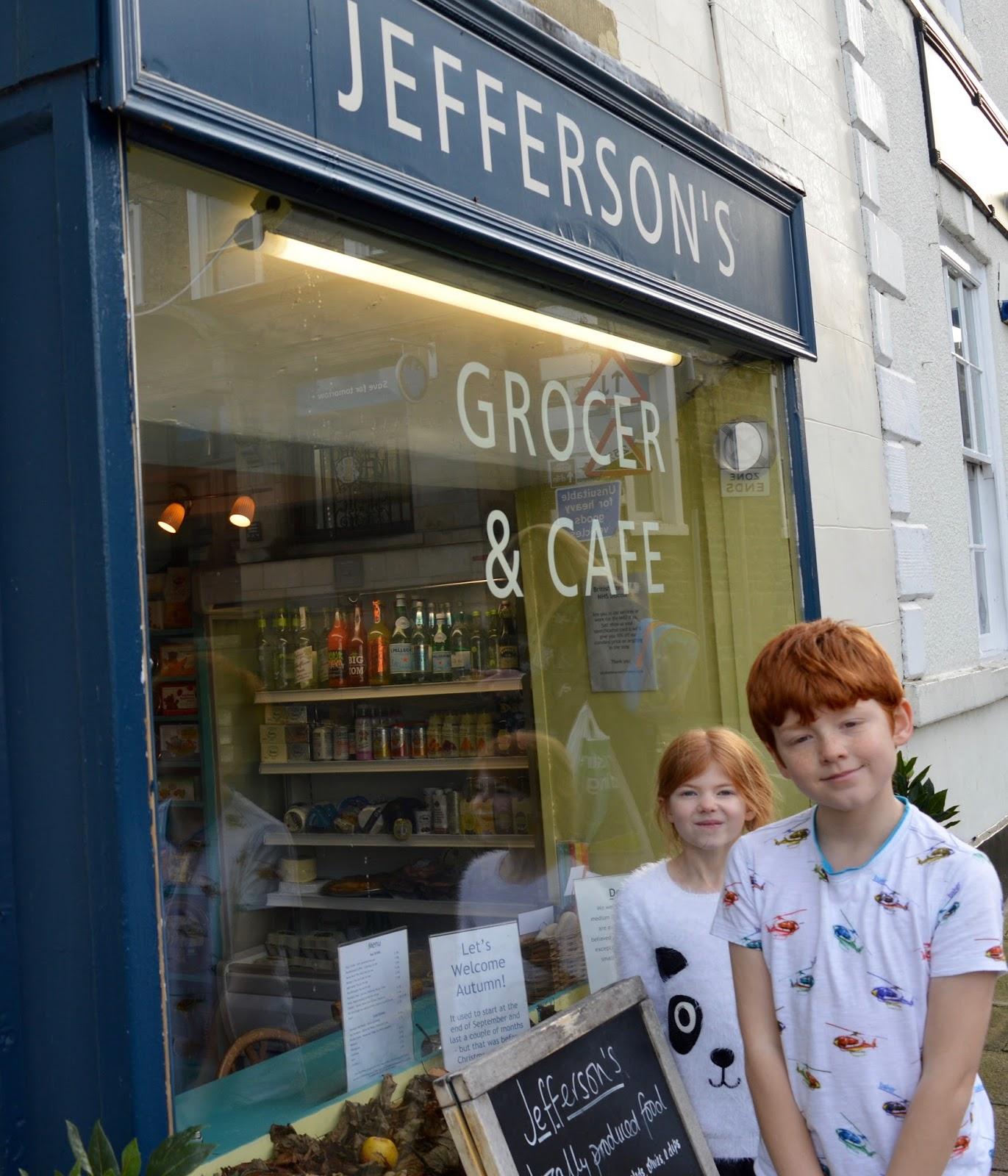 A weekend break in Richmond, North Yorkshire | What to do with the kids - Jefferson's Grocer's and cafe