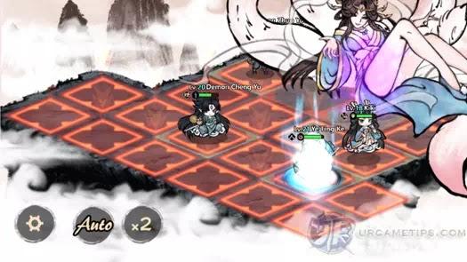 Yokai: Spirits Hunt - Tushan Ninetails Attack Pattern 3