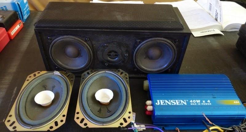 materials for bike stereo