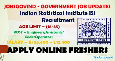 ISI Recruitment 2021
