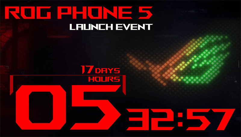 ASUS ROG Phone 5 launch date revealed, will go official on March 10