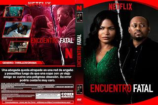 CARATULA ENCUENTRO FATAL - FATAL AFFAIR 2020[COVER DVD]