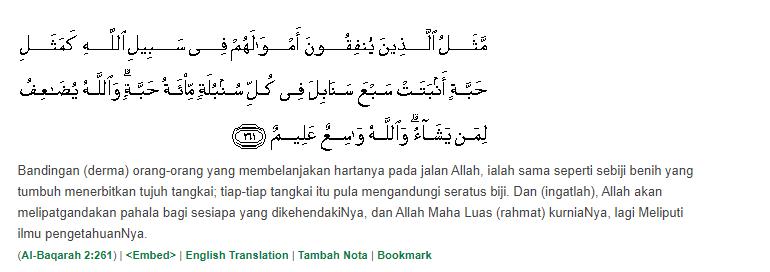 Surah-Al-Baqarah-Ayat-261