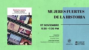 CLUB MUJERES FUERTES DE LA HISTORIA   Club de lectura