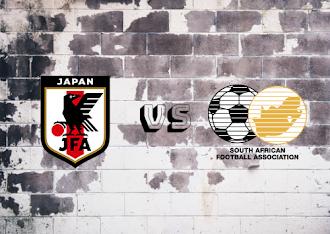 Japan vs South Africa Resumen y goles