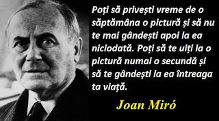Citatul zilei: 20 aprilie - Joan Miró