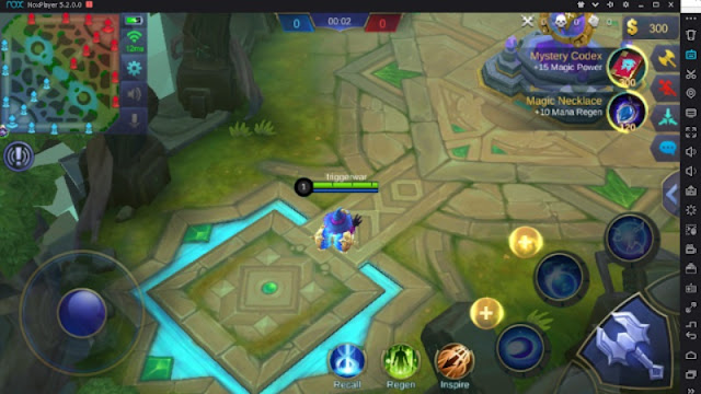 Inilah Settingan Keyboard Komputer PC Bermain Mobile Legends