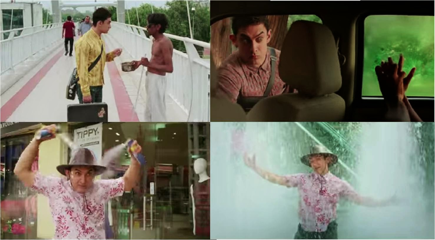 PK, the amazingly different character of actor Aamir Khan in Bollywood movie Peekay